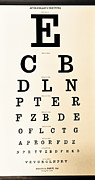 Lori Frostad - Antique Eye Chart