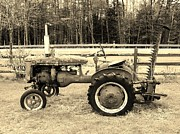 Sherman Perry - Antique Farmall Tractor