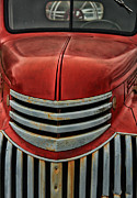 Fire Engine Photos - Antique Fire Engine by Karol  Livote