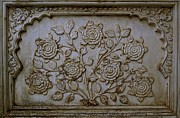 Russell Smidt Art - Antique flowers by Russell Smidt