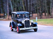 Sunday Drive Photos - Antique Ford by Terri Gostola