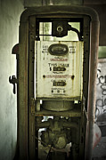 Ally Framed Prints - Antique Gas Pump Framed Print by Jessica Berlin