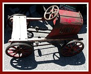 Peddle Car Photos - Antique  Metal Peddle Car  by Gail Matthews