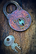 TONY GRIDER - Antique Padlock