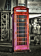 Savannah Gibbs - Antique Phone Booth