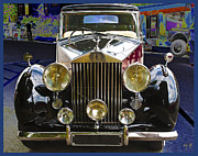 Rolls Royce Digital Art - Antique Rolls Royce by Victoria Harrington