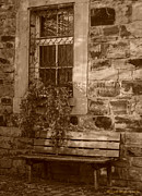Window Bench Photos - Antique Seating by Miguel Winterpacht