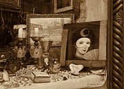 Piazzo Photos - Antique Store Window Venice by Yvonne J Butler