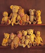 Antique Teddies Print by Anne Geddes