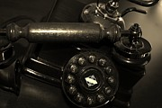 Retro Phone Photos - Antique Telephone by Karinna Marvill