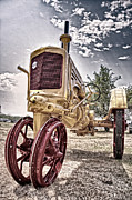 Tamyra Ayles Metal Prints - Antique Tractor Metal Print by Tamyra Ayles