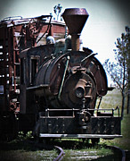 Jennifer Muller - Antique Train Engine