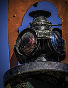 Boiler Digital Art - Antique Train Signal by F Leblanc