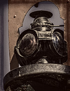 Boiler Digital Art - Antique Train Signal v2 by F Leblanc