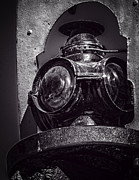 Boiler Digital Art - Antique Train Signal v3 by F Leblanc
