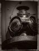 Boiler Digital Art - Antique Train Signal v4 by F Leblanc