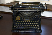 Secretarial Photos - Antique Typewriter by Sally Weigand