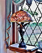 Kim Bemis - Antique Victorian Lamp...