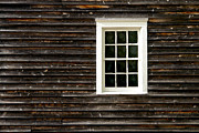 Clapboard House Photos - Antique Window by Olivier Le Queinec