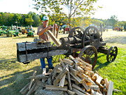 Randy Rosenberger - Antique Wood Splitter