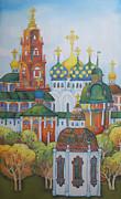 Antiquity-sergiev Posad Print by Khromykh Natalia