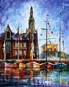 Antwerp - Belgium Print by Leonid Afremov