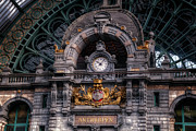Terminal Photos - Antwerp Central by Joan Carroll