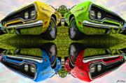 Mopar Metal Prints - Any Flavor You Like Metal Print by Gordon Dean II