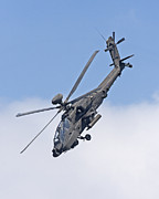Bluesky Photo Prints - Apache Attack Helicopter Print by Paul Scoullar
