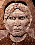 Portraits Sculptures - Apache-Kid by Gordon Punt