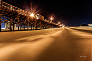 Myrtle Beach Prints - Apache Pier I Print by Everet Regal