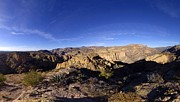 Gigapan Prints - Apache Trail Overlook Panorama January 9 2013 Print by Brian Lockett