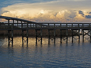 Gretchen  Friedrich  - Apalachicola Bridge at...