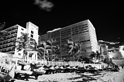 Beachfront Posters - Apartments Hotels And Beachfront Developments Fort Lauderdale Beach Florida Usa Poster by Joe Fox