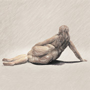 Pastel Drawing Drawings - Apathy by Taylan Soyturk