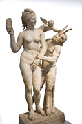 Eros Photos - Aphrodite Pan and Eros by Ilan Rosen