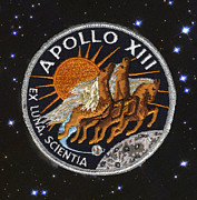 Patch Posters - Apollo 13 Poster by Paul W Faust -  Impressions of Light