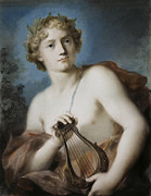 Famous Artists - Apollo by Rosalba Carriera