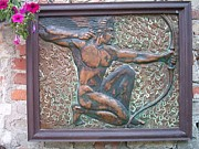 Carved Reliefs Originals - Apollo by Waldemar Kachel