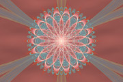 Abstract Designs Posters - Apophysis Fractal Abstract Poster by Sandy Keeton