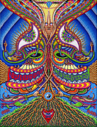Trippy Paintings - Apotheosis by Chris Dyer