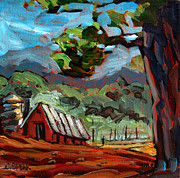 Appalachian Painting Prints - Appalachian Deep Print by Charlie Spear