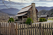 Log Cabin Art Photos - Appalachian Mountain Cabin by Randall Nyhof