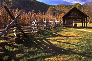 Picket Fence Prints - Appalachian Mountain Farm Print by Paul W Faust -  Impressions of Light
