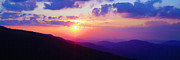 Appalachian Mountains Paintings - Appalachian Sunset by Danny Grant