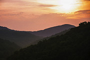 Thomas R. Fletcher Digital Art Prints - Appalachian Sunset Print by Thomas R Fletcher
