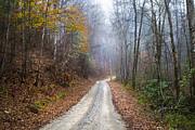 Debra and Dave Vanderlaan - Appalachian Trail into the Fog