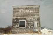 Time Gone By Photos - Appam State Bank In North Dakota by Jeff  Swan