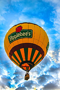 Wicker Basket Prints - Appelbees Hot Air Balloon Print by Robert Bales