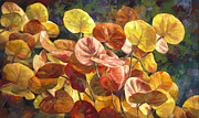 Tropical Plant Paintings - Applause by Laurie Hein